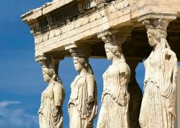 The Karyatides, Acropolis