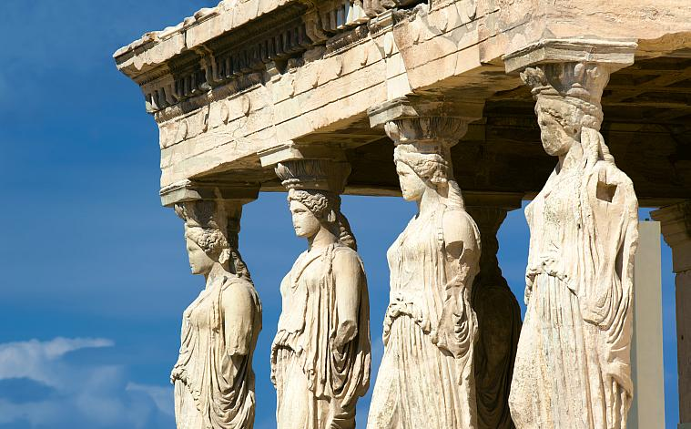 The Karyatids, Acropolis