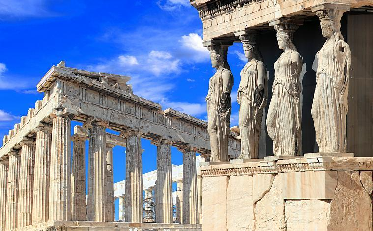 Parthenon and The Karyatides