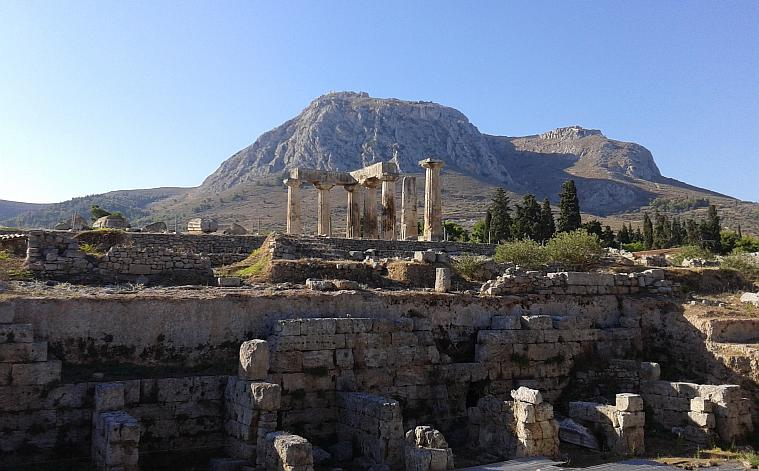 Temple of Apollon, Corinth