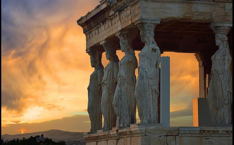 Athens, The Karyatides