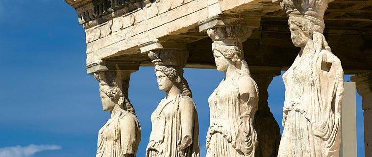 The Caryatides - Athens Walking Tours